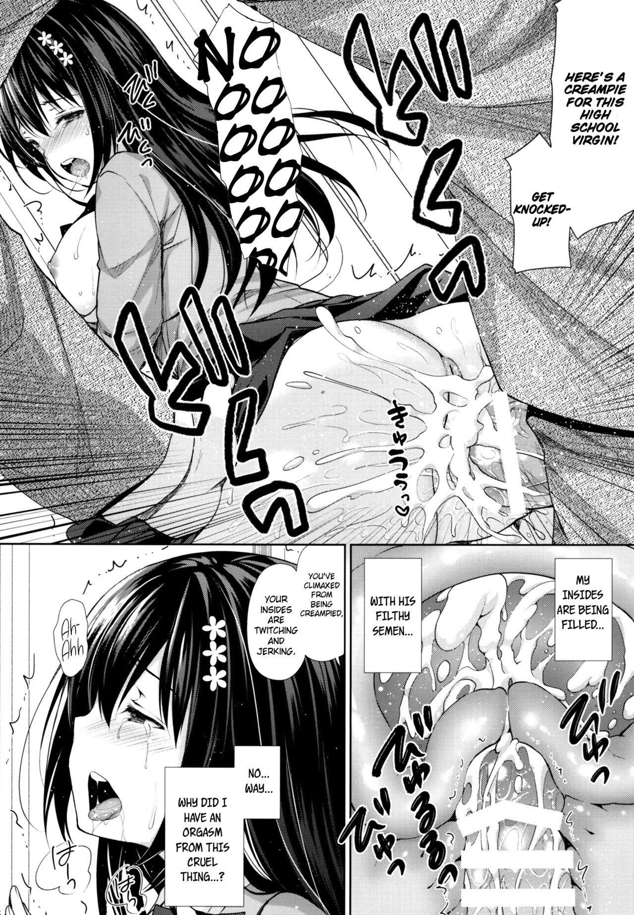 (C93) [Sugar*Berry*Syrup (Kuroe)] Chijoku no Chikan Densha ~Watashi, Sukina Hito no Soba de Chikan Saremashita~ | Shameless Molester on Train ~I got molested beside  the person that I like~ [English] [obsoletezero] 14