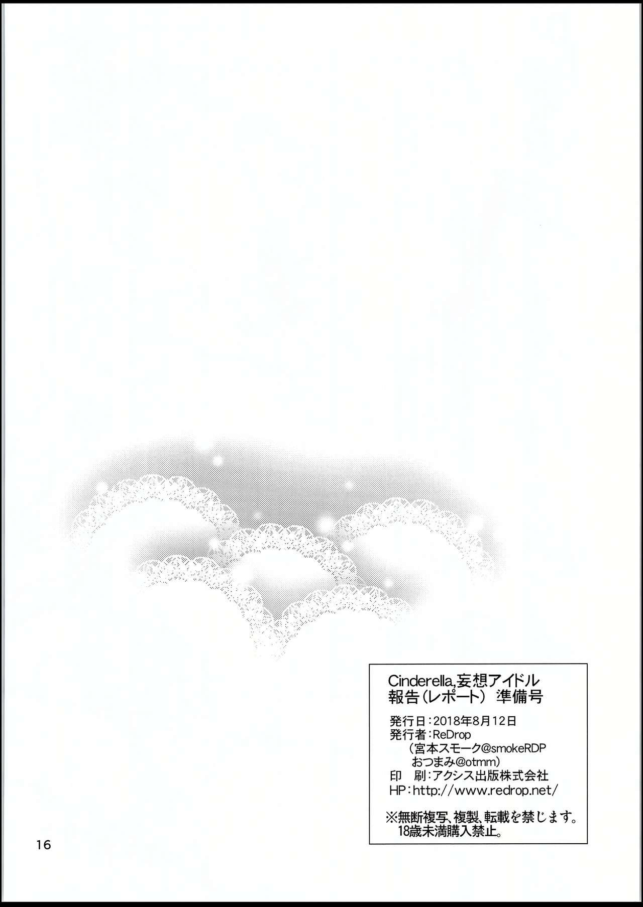 Cinderella, Mousou IDOL Report Junbigou 14