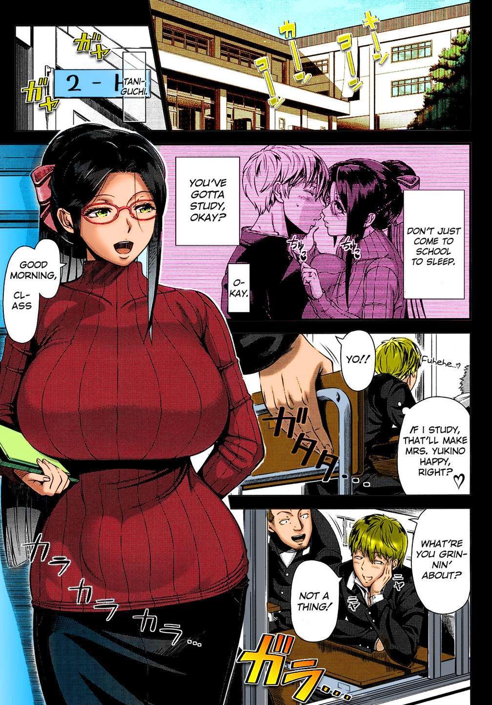 Yukino Sensei no Seikyouiku | Mrs. Yukino's Sex Education 2
