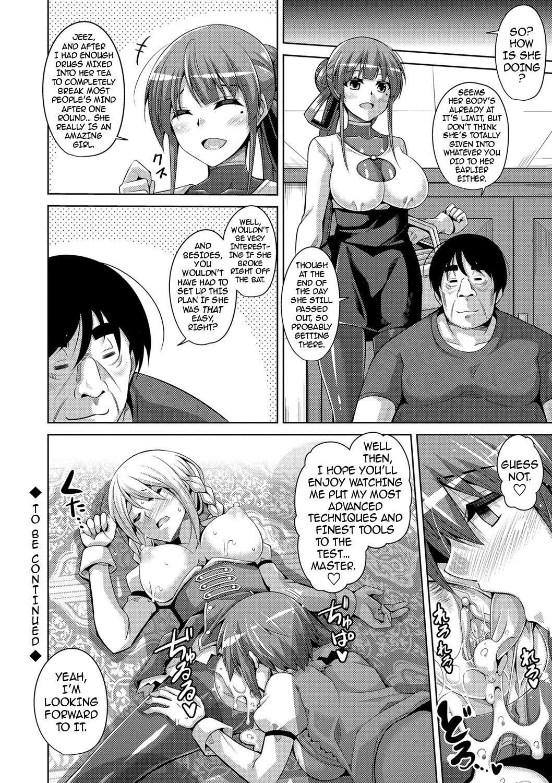 Hanazono no Mesudorei | The Slave Girls of the Flower Garden Ch. 1-9 131
