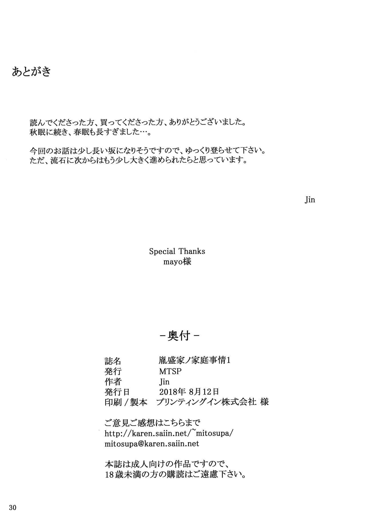 Tanemori-ke no Katei Jijou 1 28