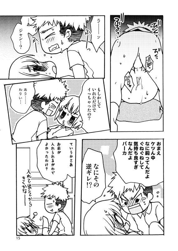 Koukishin ga Neko o Sodateru 13