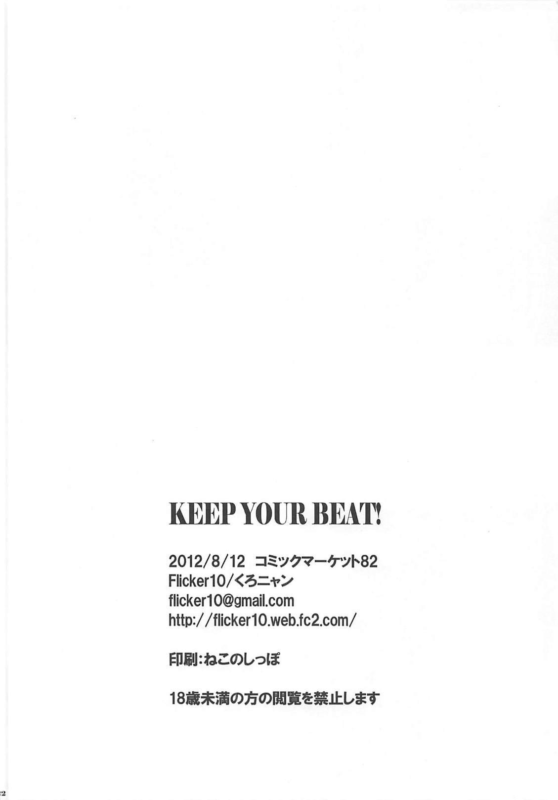 KEEP YOUR BEAT! 20