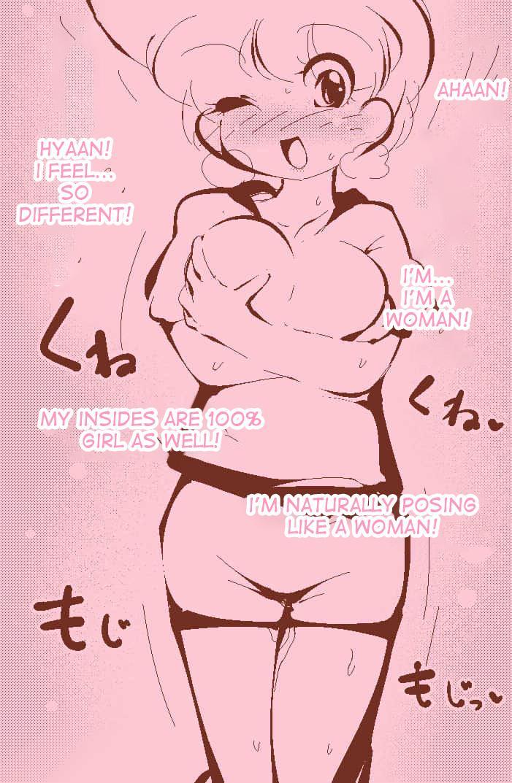 A Normal Boy Turns Into A Girl ~ 40P 25