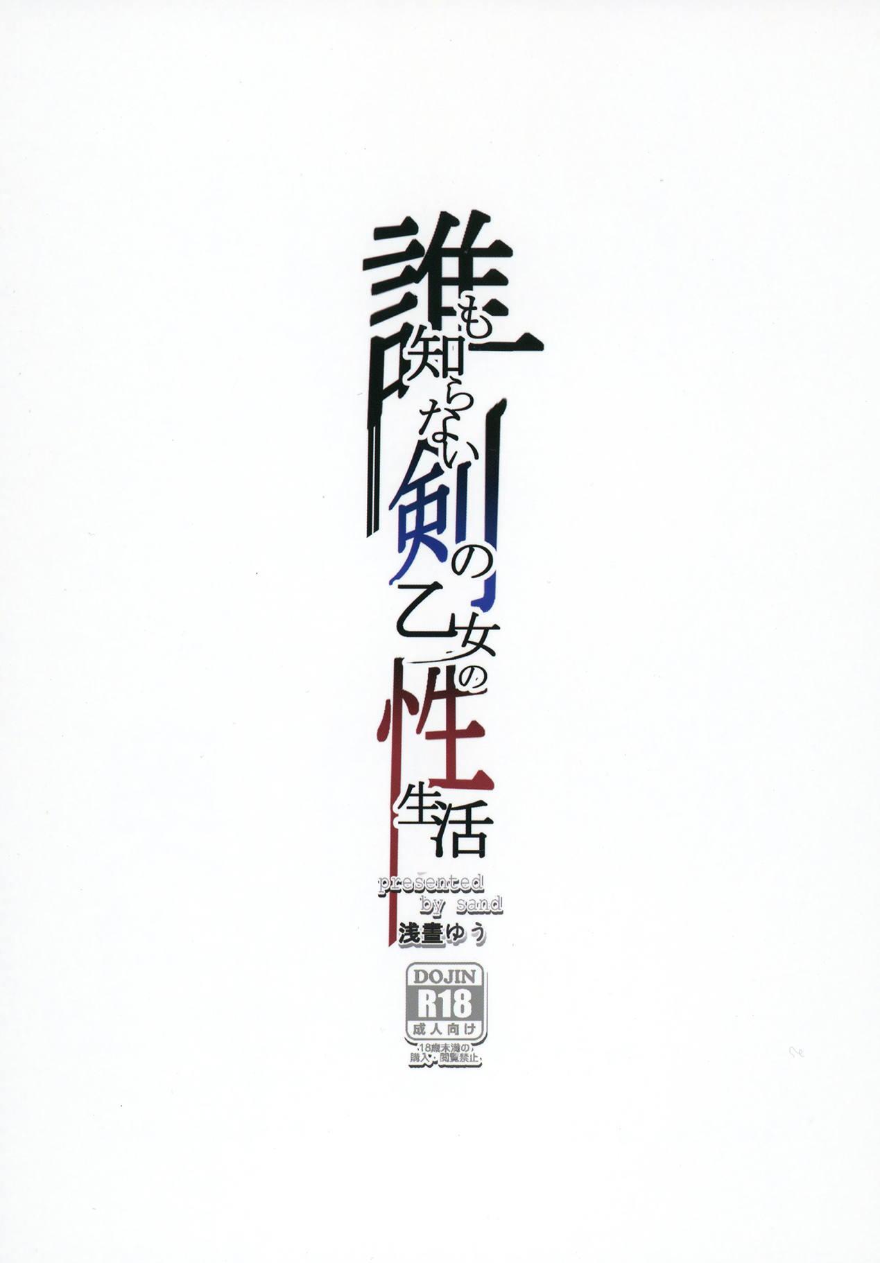 Dare mo Shiranai Tsurugi no Otome no Seiseikatsu 27