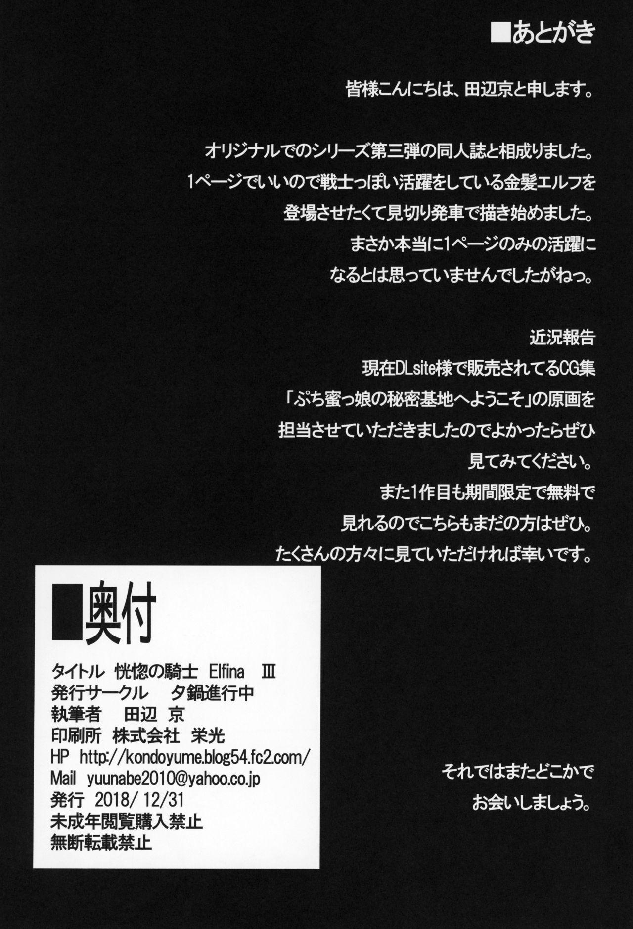 Koukotsu no Kishi Elfina III 24