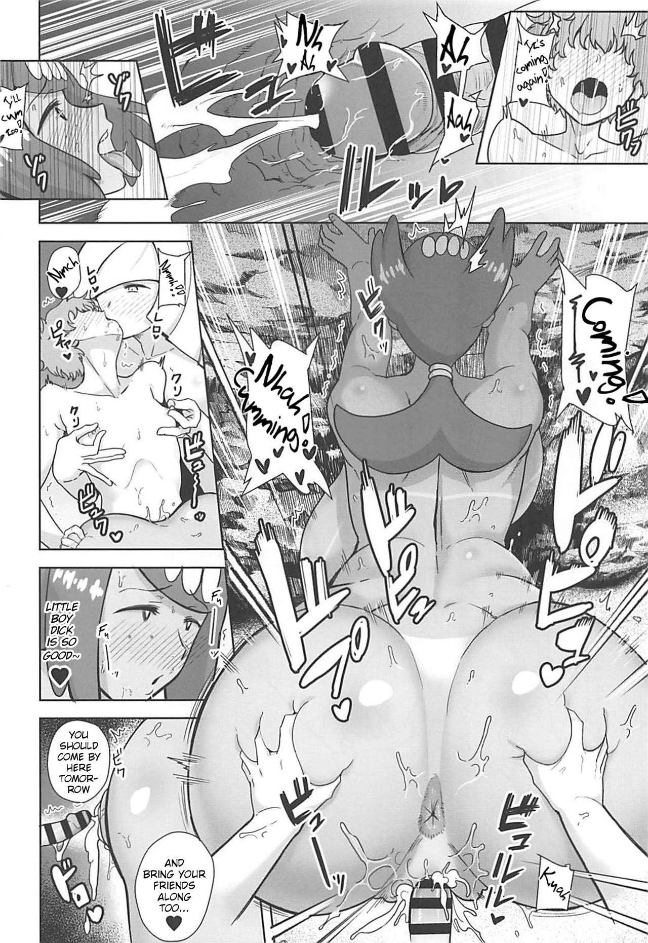 (SC2019 Spring) [DOLL PLAY (Kurosu Gatari)] Alola no Yoru no Sugata 3 (Pokémon Sun and Moon)   The Feeling of Alolan Night 3 [English] [Learn JP With H] 8