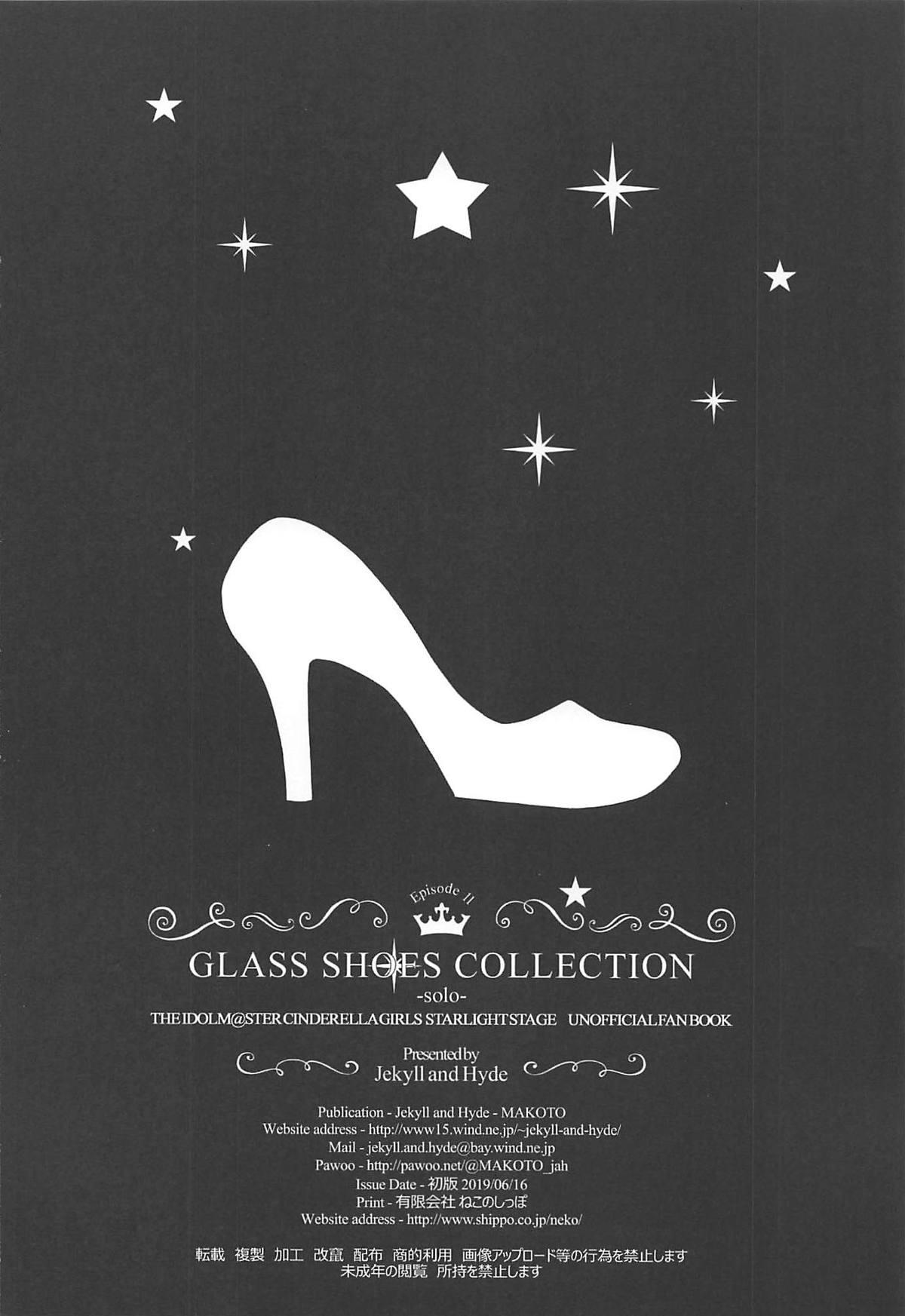 GLASS SHOES COLLECTION 71