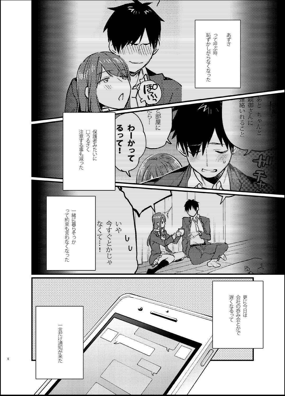 Akai wa Kimi no Toga 4
