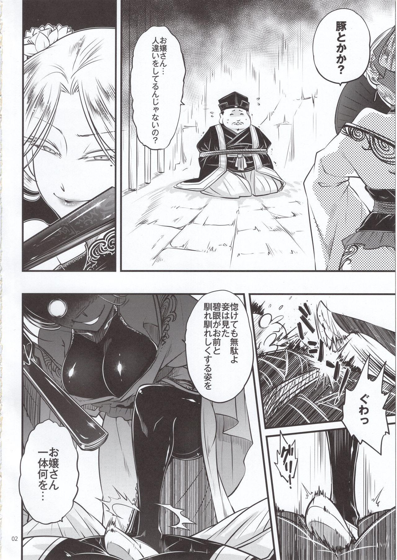 Hyakkasou4 《Akahitomiyasha, tosuisen no kyofu》 2