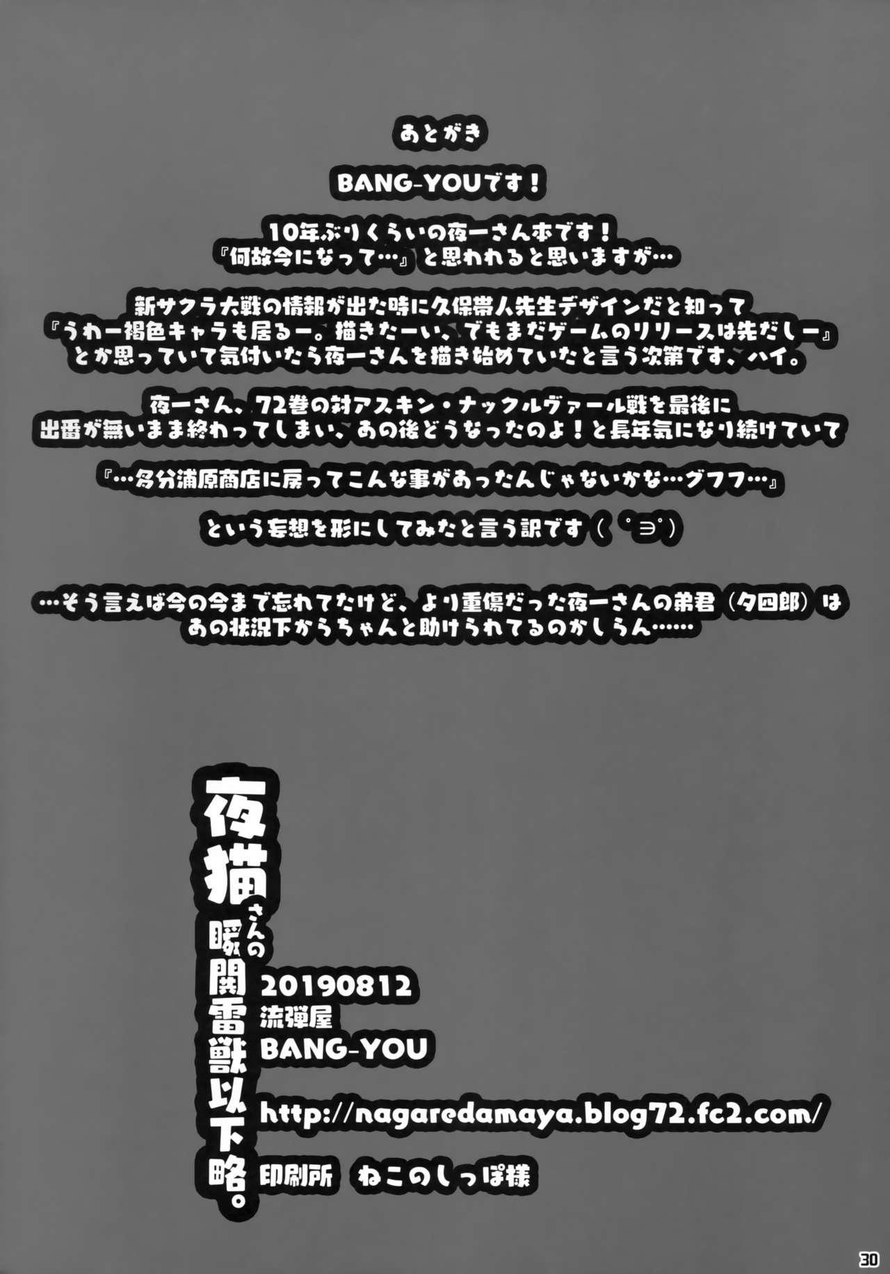 Yoruneko-san no Shunkou Raijuu Ikaryaku 28