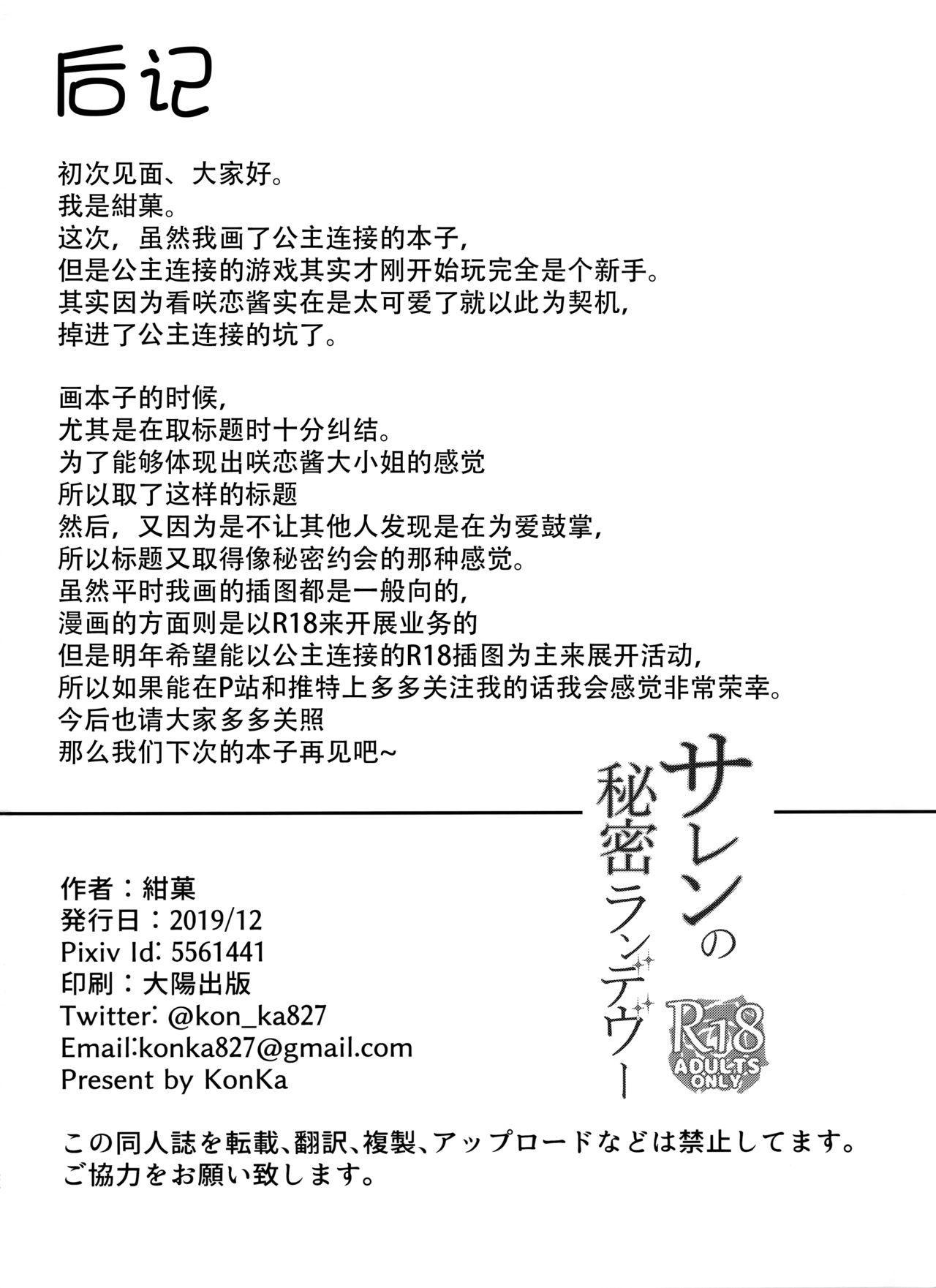 Saren no Himitsu Rendezvous 25