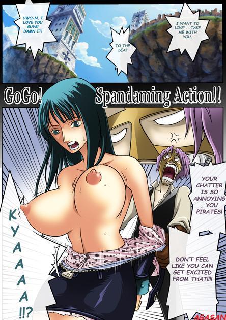 Go Go! Spandaming Action!! 0