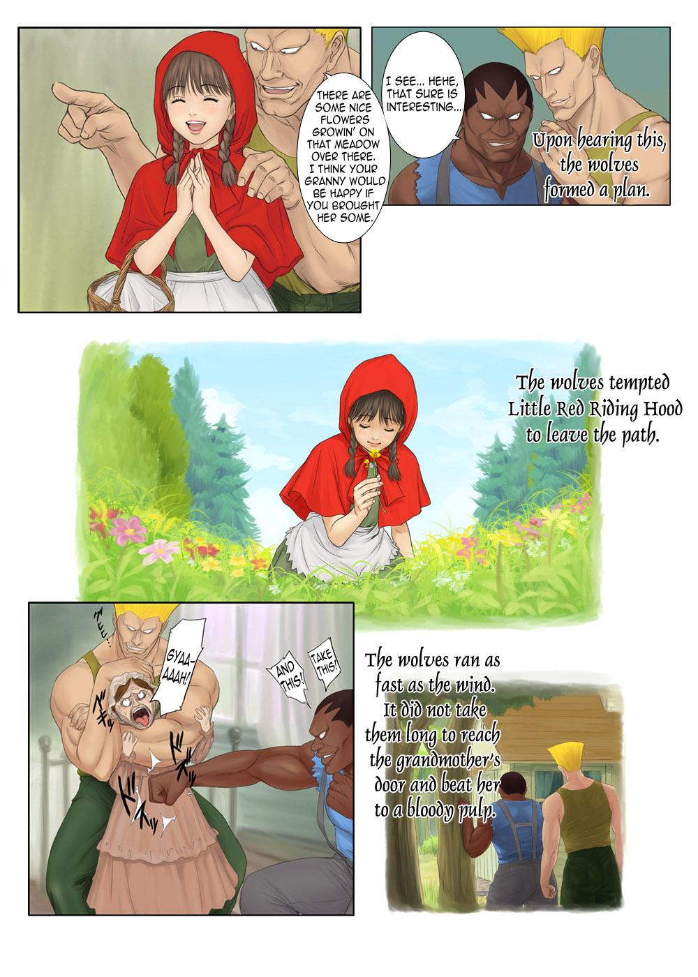 Otona no Ehon Akazukin-chan   Little Red Riding Hood's Adult Picture Book 4