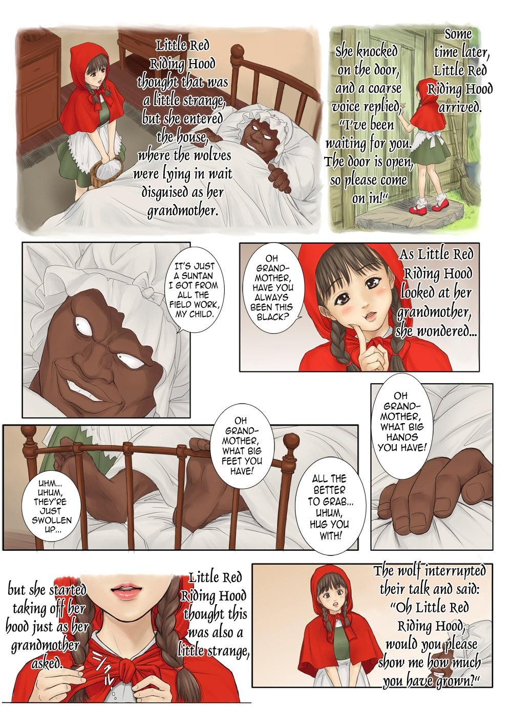 Otona no Ehon Akazukin-chan   Little Red Riding Hood's Adult Picture Book 5