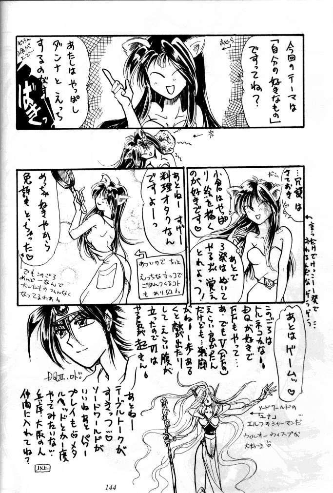 (C47) [Tsurikichi Doumei (Various)] Kenka-ya Nan Demo-R (Various) 142