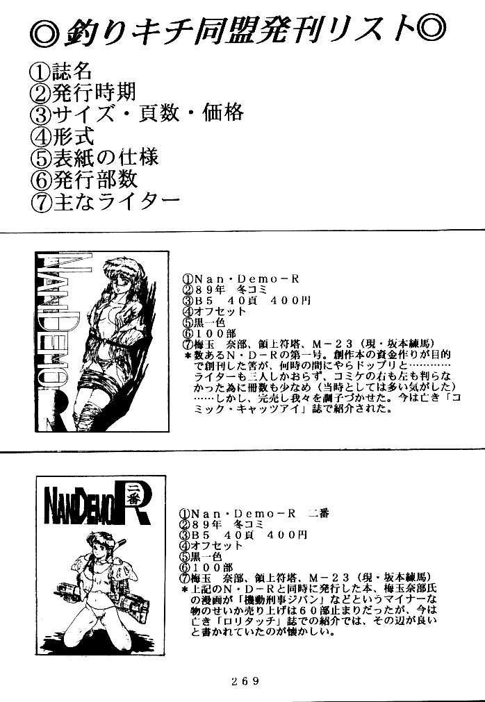 (C47) [Tsurikichi Doumei (Various)] Kenka-ya Nan Demo-R (Various) 267