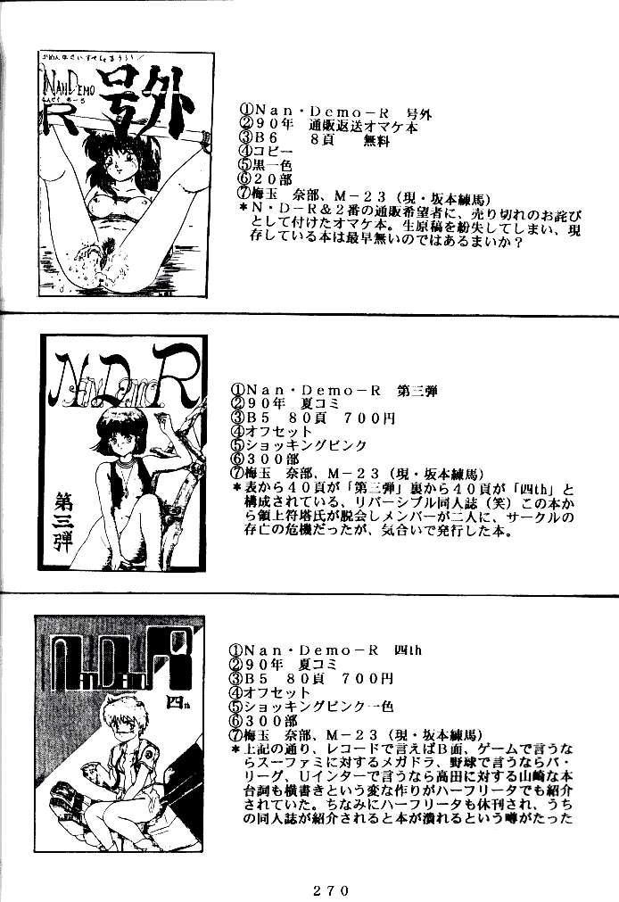 (C47) [Tsurikichi Doumei (Various)] Kenka-ya Nan Demo-R (Various) 268