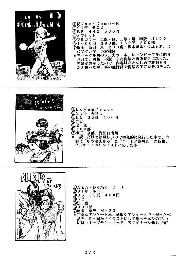 (C47) [Tsurikichi Doumei (Various)] Kenka-ya Nan Demo-R (Various) 271
