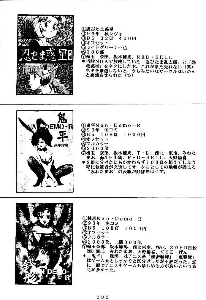 (C47) [Tsurikichi Doumei (Various)] Kenka-ya Nan Demo-R (Various) 280