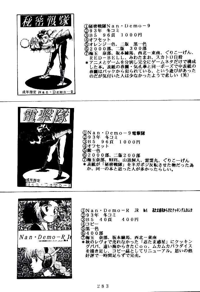 (C47) [Tsurikichi Doumei (Various)] Kenka-ya Nan Demo-R (Various) 281