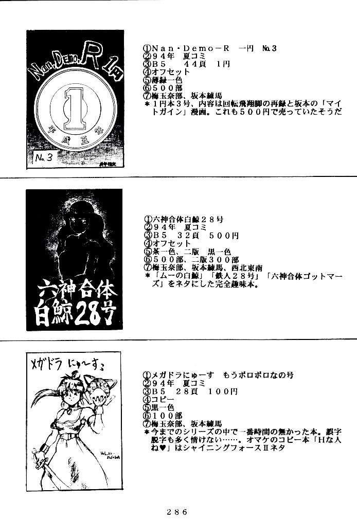 (C47) [Tsurikichi Doumei (Various)] Kenka-ya Nan Demo-R (Various) 284