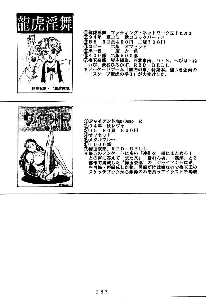 (C47) [Tsurikichi Doumei (Various)] Kenka-ya Nan Demo-R (Various) 285