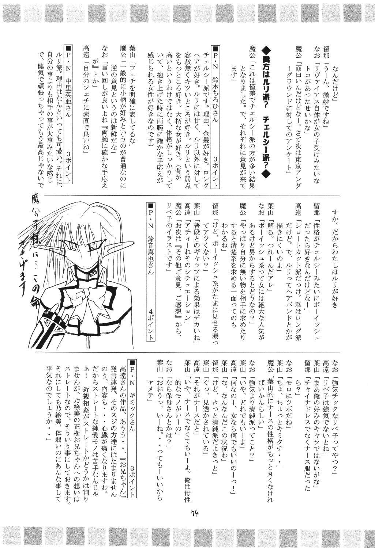 (C69) [RED RIBBON REVENGER (Makoushi)] Valhalla ~ Dainishou~ Fuyu no Arashi (Spiral) [Digital] 73