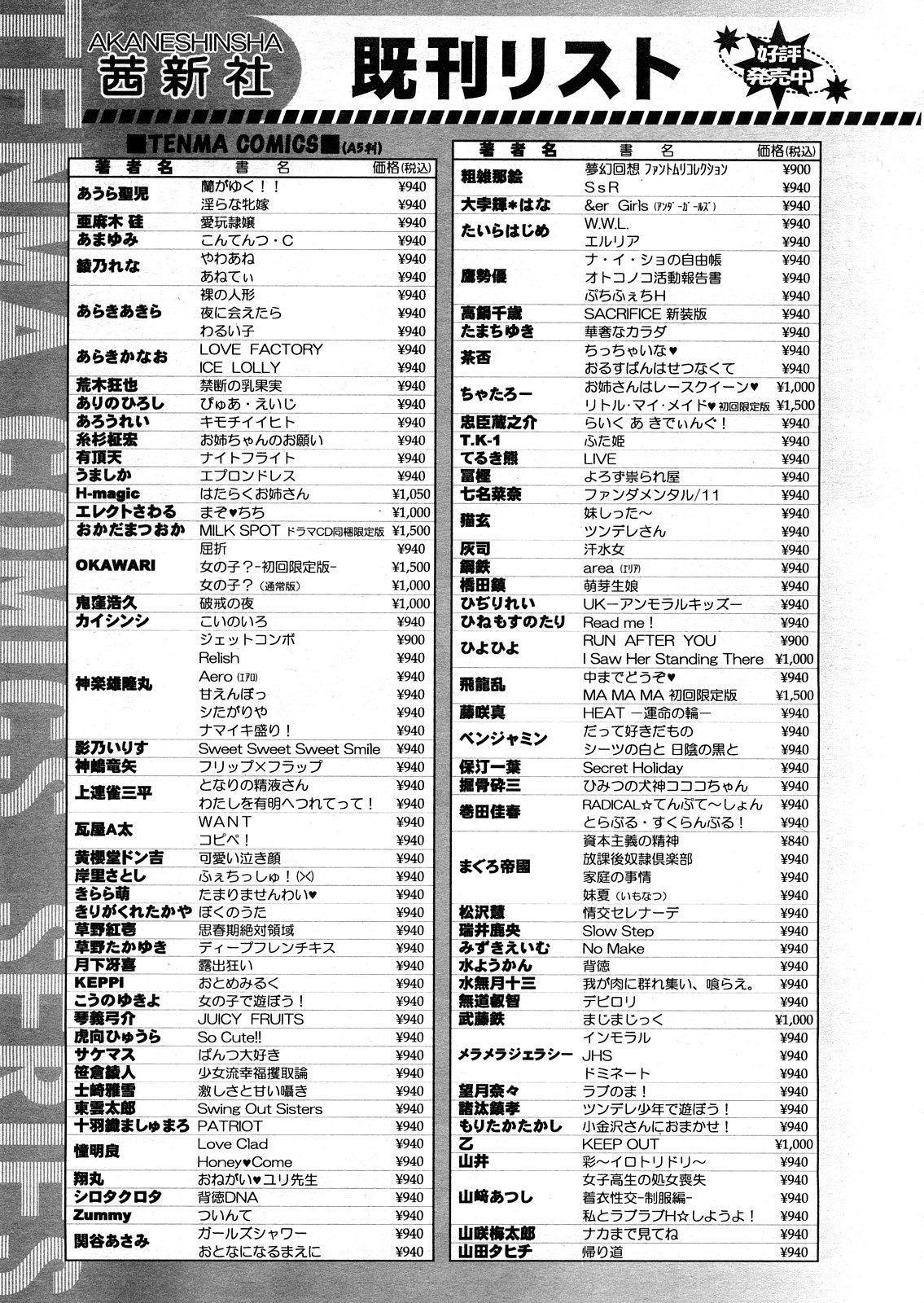 COMIC TENMA 2008-04 427