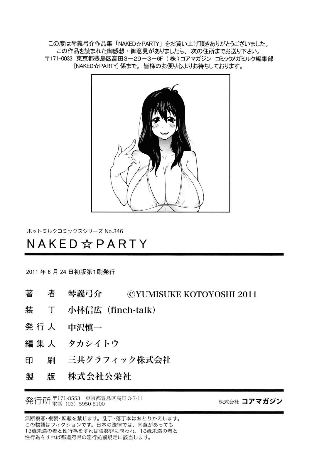 Naked Party 190