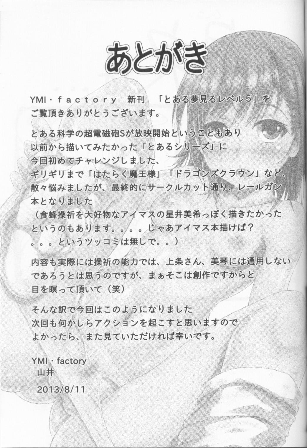 Toaru Yumemiru Level 5 19