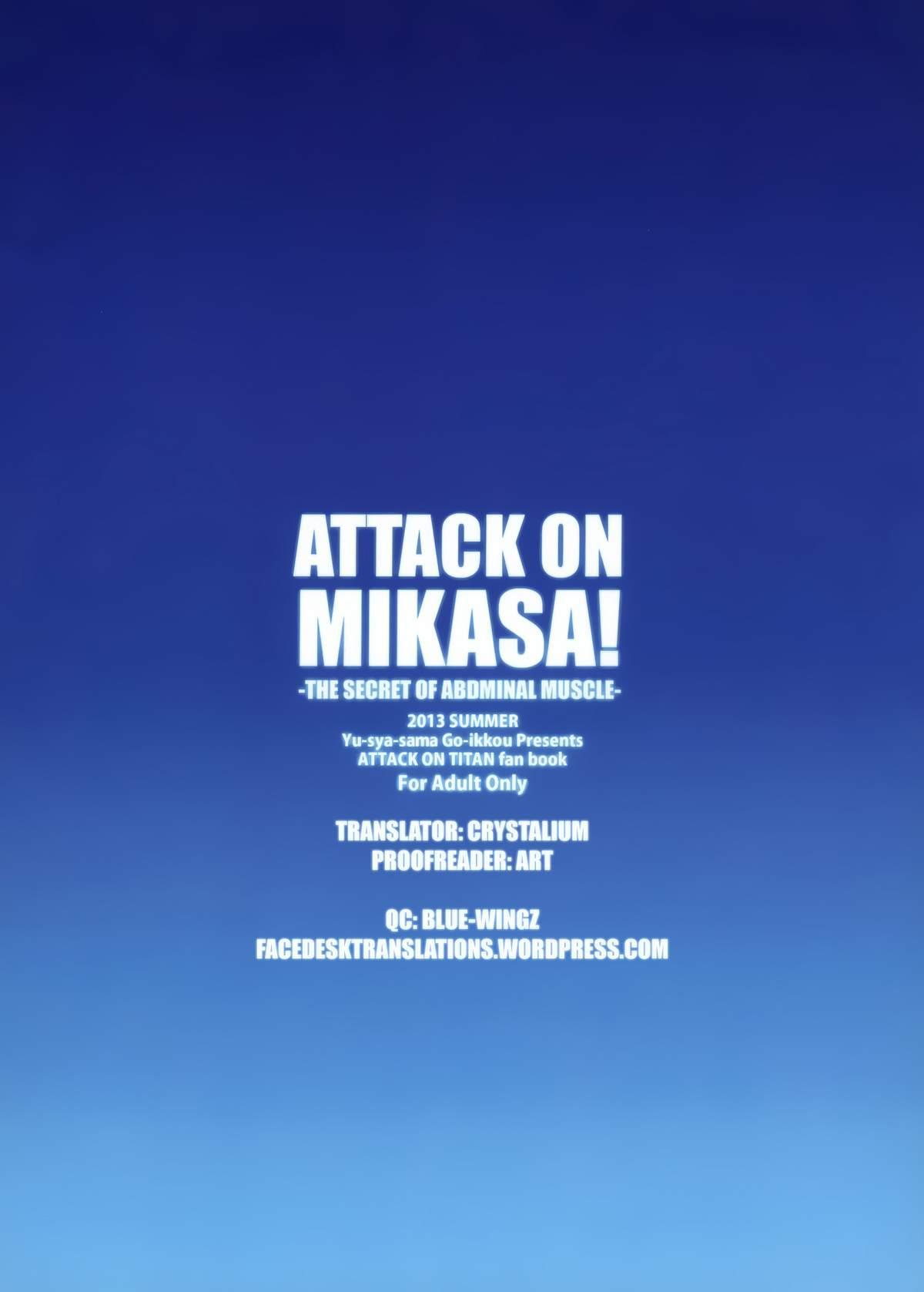 ATTACK ON MIKASA 25